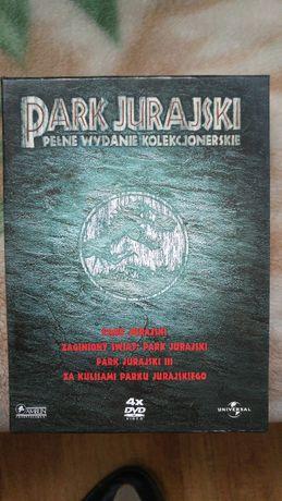 park jurajski wydanie kolekcjinerskie 4 dvd