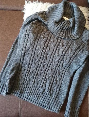 Sweter damski z kominem Canda