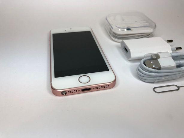 Iphone SE 16GB ROSE GOLD. IDEALNY! FV23% SKLEP W-wa. +Gratisy! Wysyłka