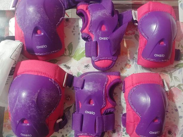 Ochraniacze dziecięce Oxelo XS rolki, hulajnoga