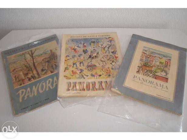 Lote de 3 revistas Panorama (Anos 40)