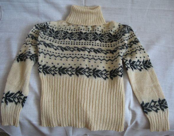 Зимний свитер, полувер