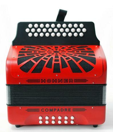 Concertina de 31 x 12 botões Hohner