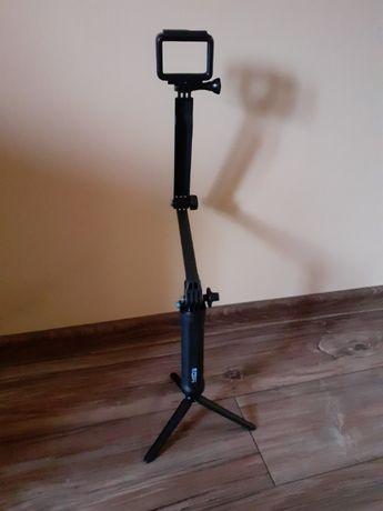 Uchwyt Go Pro 3- Way Grip, ramię, wysięgnik ze statywem, czarny.