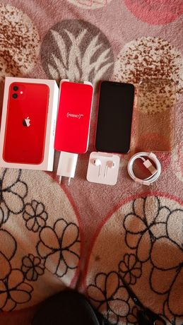 iPhone 11 64 gb czerwony w idealnym stanie red
