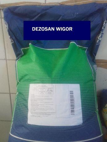 Dezosan Wigor 25 kg- sucha dezynfekcja pomieszczeń