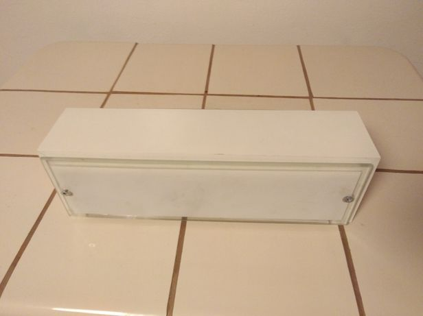 Lampa łazienkowa biała