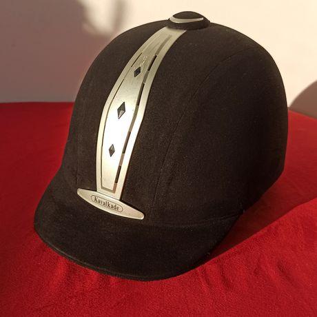Шлем каска жокейка для верховой езды /конного спорта Kavalkade