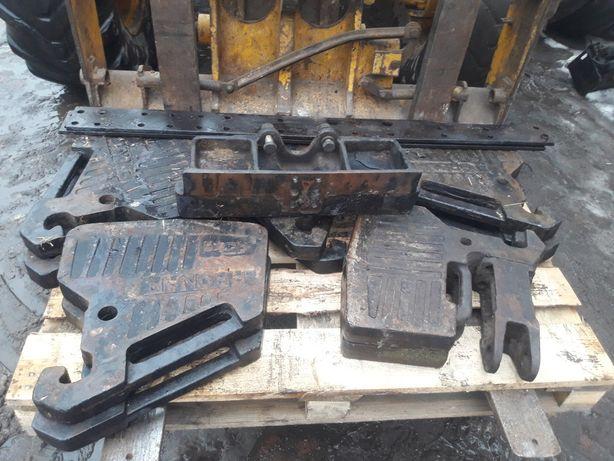 Obciazniki 450kg komplet z mocowaniami Mtz Belarus Pronar