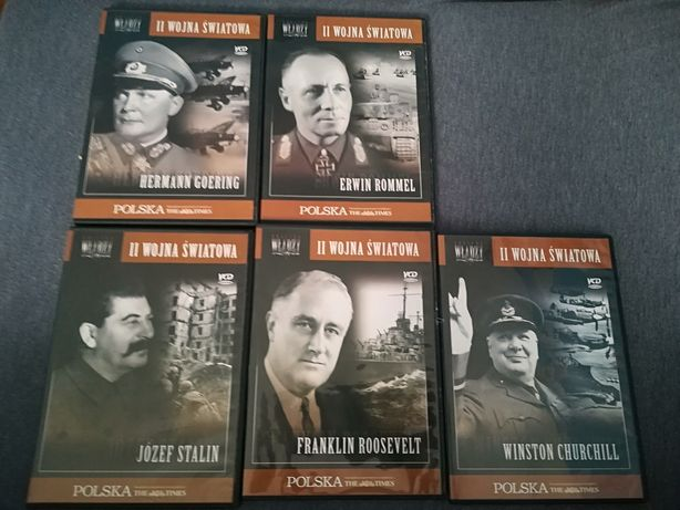 Płyty dvd -oblicza władzy II wojna światowa biografie