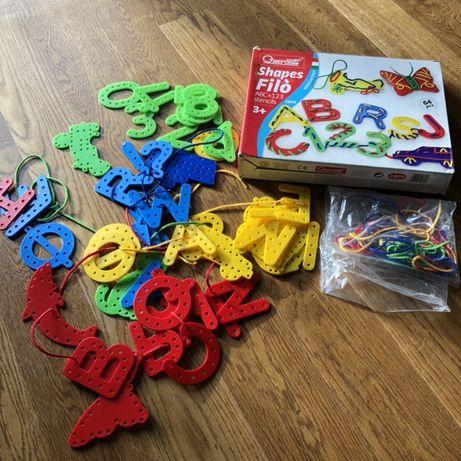 .: NOWE! literki i cyferki do szycia/alfabet/zabawka edukacyjna :.