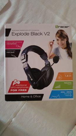 Słuchawki Tracer Explode v2 (jack 3,5mm mikrofon) Teams Zoom