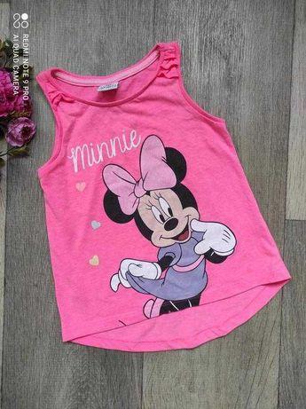 Майка футболка с Минни платье, шорты на девочку, р. 92
