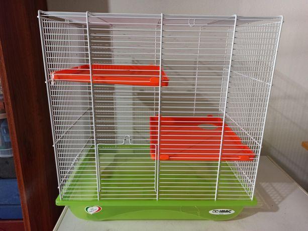 Gaiola IMAC para Hamster (Como nova) + Acessórios