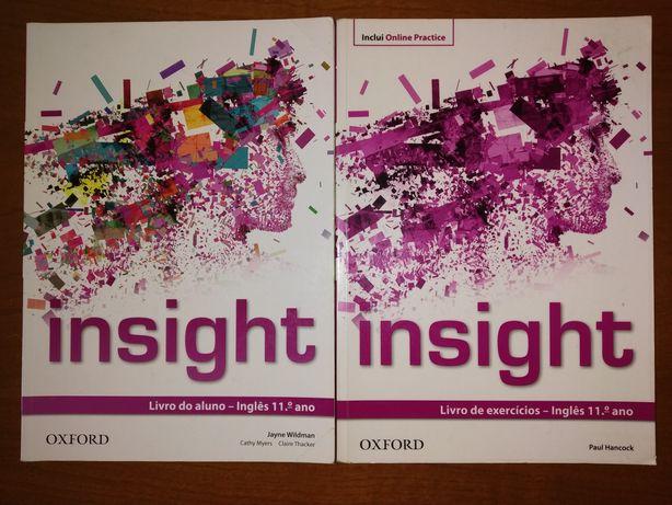 Manual + Caderno de Atividades Insight 11°ano - Oxford