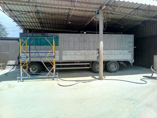 Пескоструй,Пескоструйные работы в Запорожье и на выезде по Украине