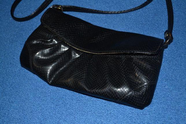 Сумка клатч искусственная крокодиловая кожа