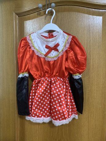 дитячий новорічний костюмчик Мінні Маус