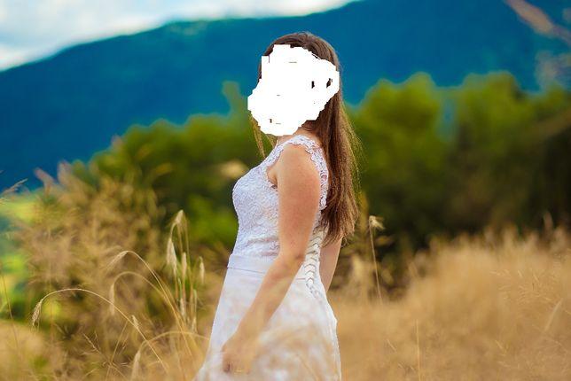 Suknia ślubna r.34 -36