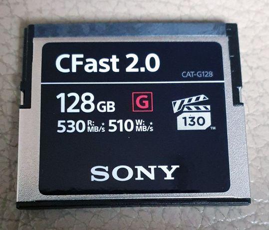 CFast - CAT-G128 - 128GB - oryginał SONY