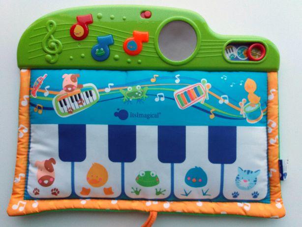 Brinquedo IMAGINARIUM - PIANO musical, sons de animais - NOVO / Selado
