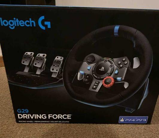 Volante Logitech G29 Driving Force PS4/PS3/PC - NOVO!