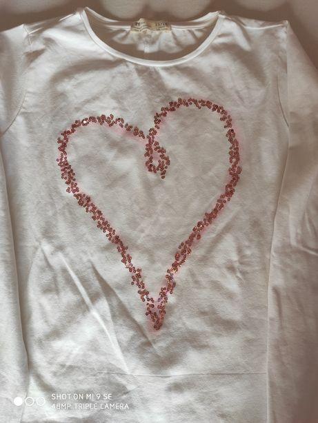 Conjunto de três t-shirts manga comprida novas menina t 12