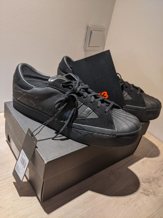 "Buty Adidas ""Yohji Star"" Y-3 Black Superskate Low EU 44.5 US 10.5 Kraków - image 1"