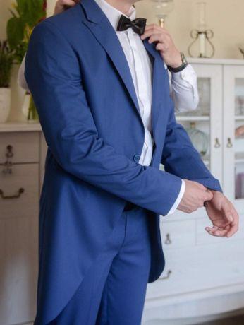garnitur ślubny - smoking z frakiem