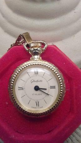 Glashutte zegarek kieszonkowy Vintage Retro Prl prezent święta