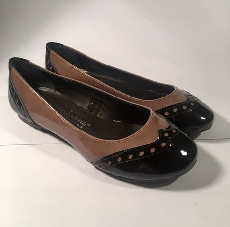 Buty lakierowane baleriny Prima Donna [36]