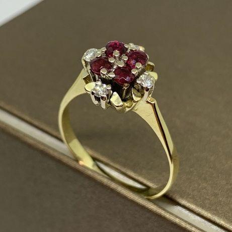 Piękny, złoty pierścionek p. 333 r. 20