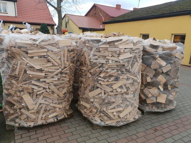 Drewno opałowe kominkowe buk opał zrzynki paleta 1.5m3