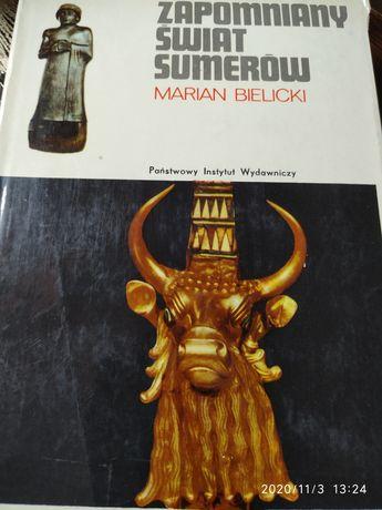 Zapomniany świat Sumerów Marian Bielicki