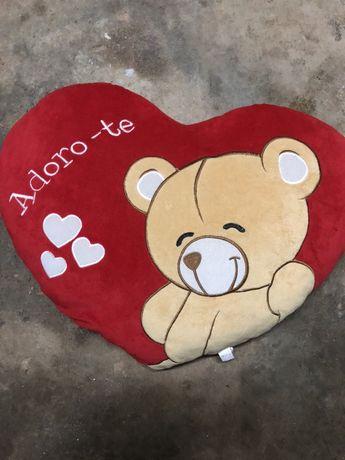 Almofadas em forma de coração