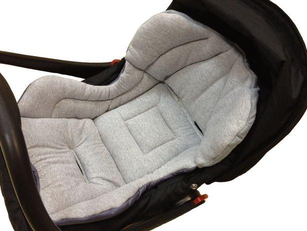 Вкладыш для новорожденных в автокресло, из х/б трикотажа
