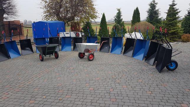Taczki ogrodowe budowlane