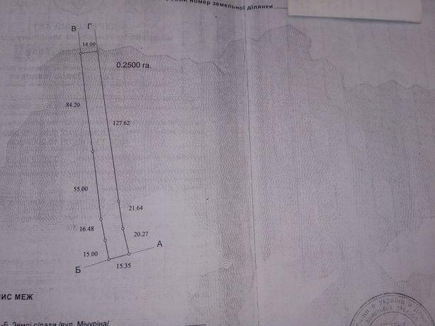 Продам земельный участок 50км. от Киева