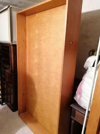 Cama do GATO PRETO em madeira maciça, com gavetão. Solteiro 100 €