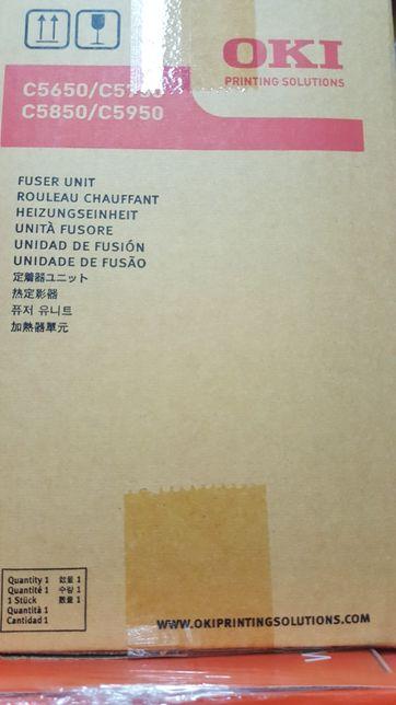Fuser / fusor e belt OKI original impressora c5650 c5750 c5850 c5950