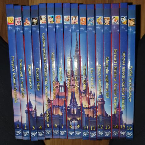Bajkowa kolekcja Disneya 16 DVD