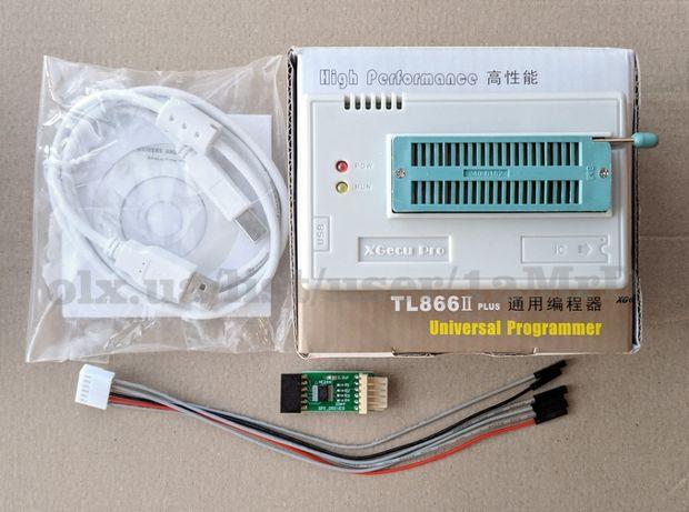 Акция! Программатор XGecu TL866II Plus (MiniPro) + адаптеры /SOP PLCC