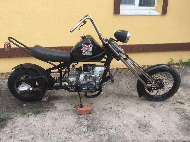"""Продам мотоцикл чепер кастом на базе мт днепр """"апокалипсис"""" из 90х"""