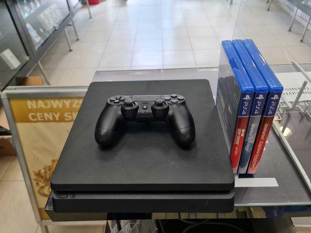 Konsola PS4 Slim PlayStation 4 Slim 1TB + pad + okablowanie + 3 gry