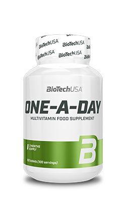BIOTECH WITAMINY I MINERAŁY One a Day 100 tabletek Multivitamin Food