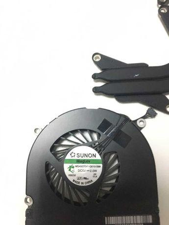Система охлаждения+вентиляторы MacBook A1297 (2009гг)