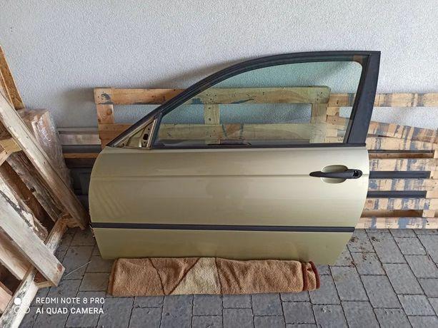 Bmw e46 compact - drzwi, wygłuszenie, airbag, poduszka, szyba itp.