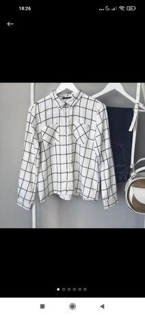 Стильная рубашка в клетку
