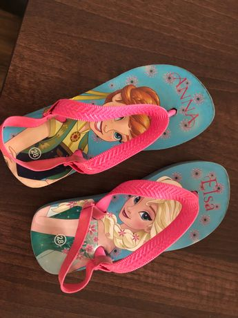 Klapki kąpielowe Elsa&Anna!