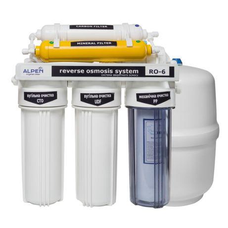 Фильтр питьевой воды обр осмос, 6 ступеней, 75 галлон в день, АКЦИЯ!